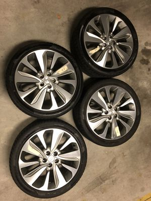 set of Chevy R18 wheels 225/40R18 for Sale in Weehawken, NJ