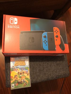 Nintendo Switch + animal crossing game for Sale in Imperial Beach, CA