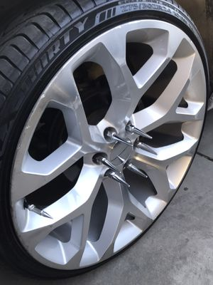 For sale or trade 24 rims for Sale in Fresno, CA