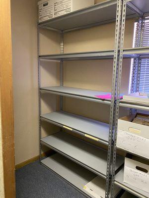 Heavy duty metal shelving for Sale in Gilbert, AZ