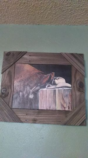 Paintings,rustic Western , marylin Monroe,ect for Sale in Watauga, TX