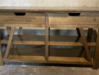 Wood Console Table for Sale in Portland,  OR
