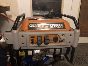 Generac XP8000E Generator for Sale in Brunswick, MD
