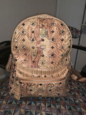 Snake skin MCM Bookbag for Sale in Fort Washington, MD