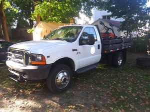 Ford 2000 f450 v10 5speed 9 ft plow for Sale in Worcester, MA