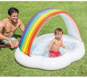 56in x 47in x 33in rainbow cloud baby pool for Sale in Los Angeles, CA