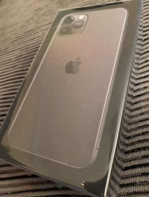 new apple iphone 11 pro 256 gb space gray unlocked fully paid works all carriers works worldwide never opened for Sale in Fremont, CA
