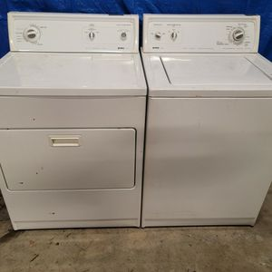 Kenmore washer and electric dryer set good working condition set for $249 for Sale in Wheat Ridge, CO