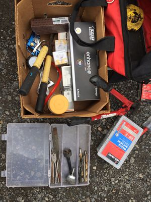 Miscellaneous tools ladder new used for Sale in Portland, OR