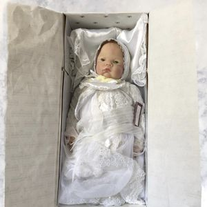 (New Never Out of the Box) Antique Ashton Drake Christening Baby Doll *Limited Edition* for Sale in Spring, TX