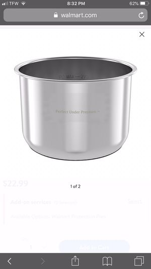 Inner Pot for Pressure Cooker for Sale in Spring Hill, FL