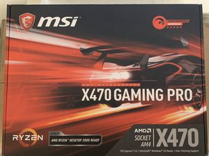MSI X470 GAMING PRO for Sale in Houston, TX