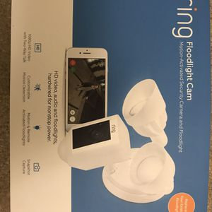 Ring Floodlight Camera for Sale in Chino, CA