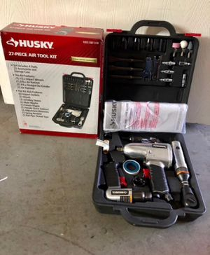 Complete air tool kit with the four most popular air tools Complete with 4 tools and 19 accessories Complete air tool kit with the four most popular for Sale in Queens, NY