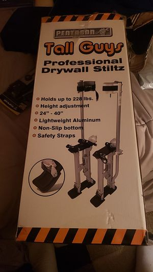 Pentagon tall guys drywall stilts for Sale in Seattle, WA