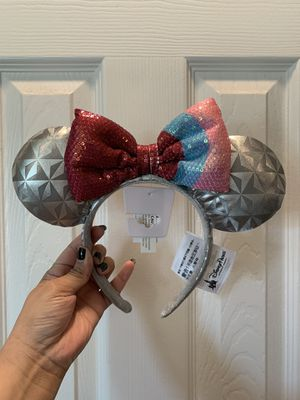 Bubblegum epcot ears for Sale in Live Oak, TX