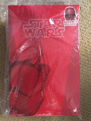 Hot Toys Star Wars Sith Trooper 1/6 Scale Figure SDCC EXCLUSIVE for Sale in San Ramon, CA