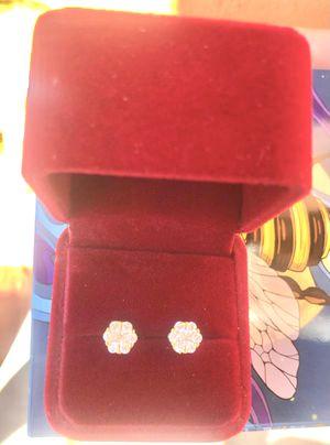 Flower Cluster Diamond Earrings for Sale in Sunnyvale, CA
