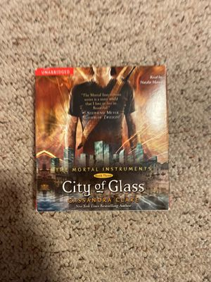 The Mortal Instruments Book 3 City of Glass AUDIOBOOK for Sale in Burlington, CT