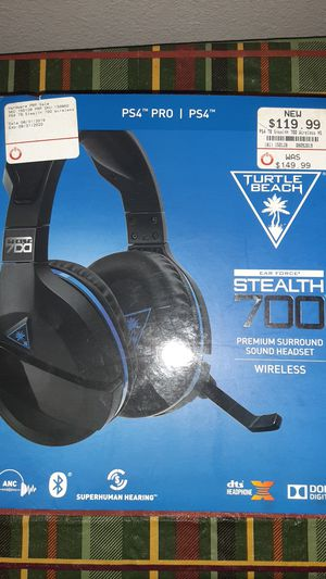 Stealth 700 Turtle Beach, PS4, Headset, Wireless for Sale in San Bernardino, CA