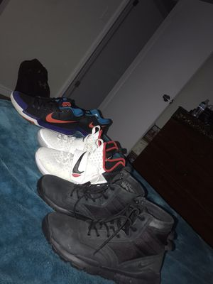 Kyrie 3s , Lebrons, Nike boots. for Sale in Salt Lake City, UT