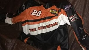 AUTHENTIC NASCAR LEATHER JACKET #20 TONY STEVENS for Sale in Portland, OR