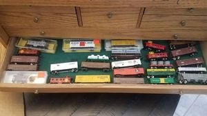 N-Scale Train Railroad Cars and Track for Sale for sale  Las Vegas, NV