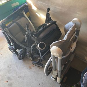 Strollers And High Chair. for Sale in Webster, TX