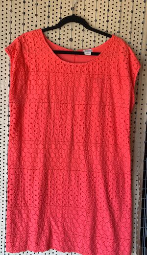 Large coral colir dress for Sale in Fresno, CA
