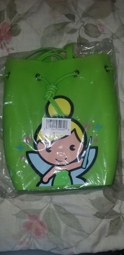 Disney Store Tinkerbell Jelly Silicone backpack for Sale in Los Angeles,  CA