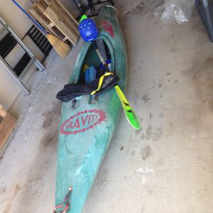 Savage Gravity Kayak And Accessories - Best Offer for Sale in Carrollton, TX