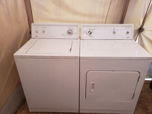 Washer and dryer in perfect condition for Sale in San Antonio, TX