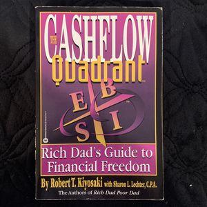 The Cashflow Quadrant By Robert T. Kiyosaki for Sale in Hacienda Heights, CA