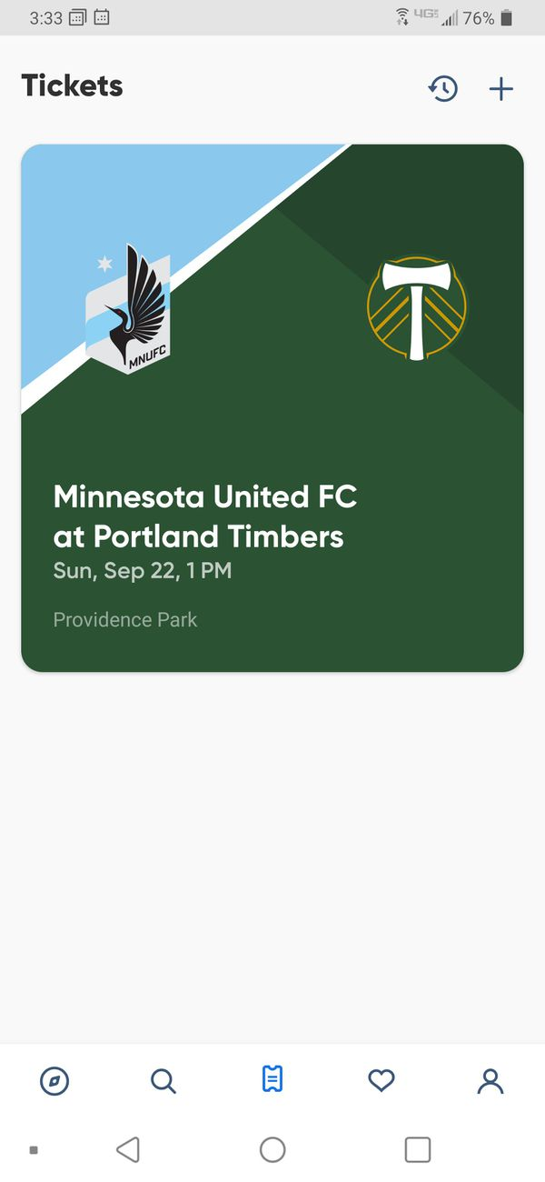 Timbers Tickets