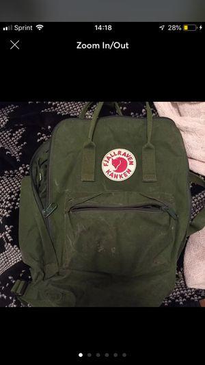 Fjall raven kanken green backpack for Sale in Buena Park, CA
