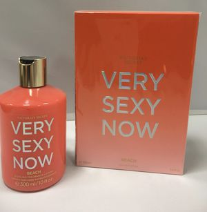 Set of Victoria's Secret VERY SEXY NOW BEACH perfume and lotion for Sale in North Attleborough, MA