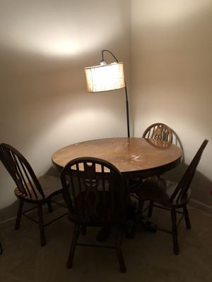 Now free Solid wood table for Sale in Fredericksburg, VA