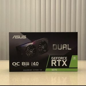 ASUS Dual NVIDIA GeForce RTX 3070 OC Edition Gaming Graphics Card - BRAND NEW/SEALED for Sale in Evesham Township, NJ