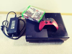 Microsoft Xbox One Gaming Console 500 GB - Black for Sale in Seattle, WA