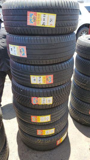 4 tires 215 50 17 $160 for Sale in Chula Vista, CA