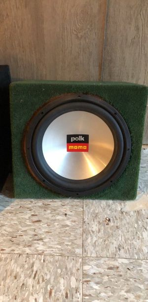 Polk Momo Stereo System for Sale in Germantown, MD