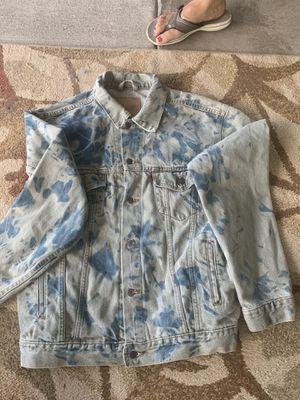 Levi Strauss tye dye Jean Jacket for Sale in Riverview, FL