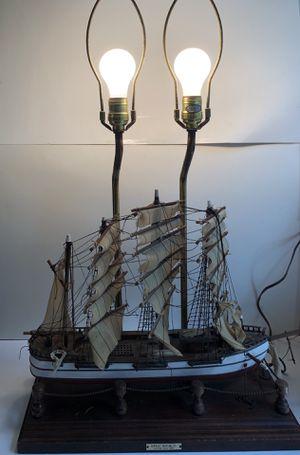 Vintage Great Republic Clipper Year 1835 Replica Ship Model Lamp for Sale in Alexandria, VA