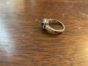 Diamond and sapphire engagement ring for Sale in Fishersville, VA
