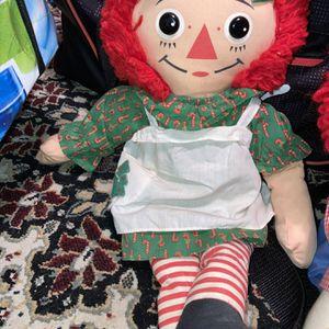 Vintage Xmas Raggedy Ann Doll for Sale in Magnolia, TX