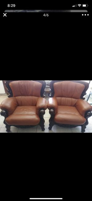 Sofa chair leather for Sale in El Cajon, CA