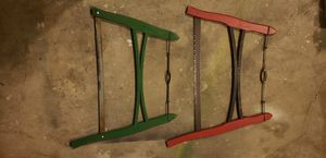 Antique Bow Saws $40 Each for Sale in Lacey, WA