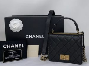 CHANEL QUILTED BAG TOP HANDLE for Sale in Corona, CA