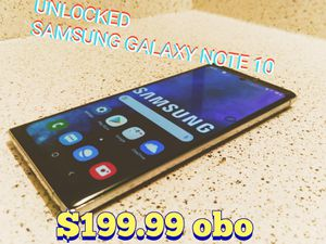 Samsung Galaxy Note 10[UNLOCKED$195.00 for Sale in Norcross, GA