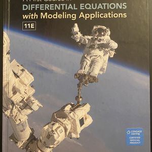 A First Course in Differential Equations with Applications for Sale in Los Angeles, CA